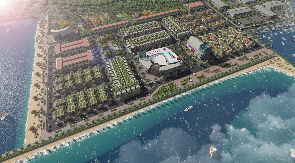 Đón cơ hội với khu đô thị lấn biển Queen Pearl Marina Complex tại Bình Thuận