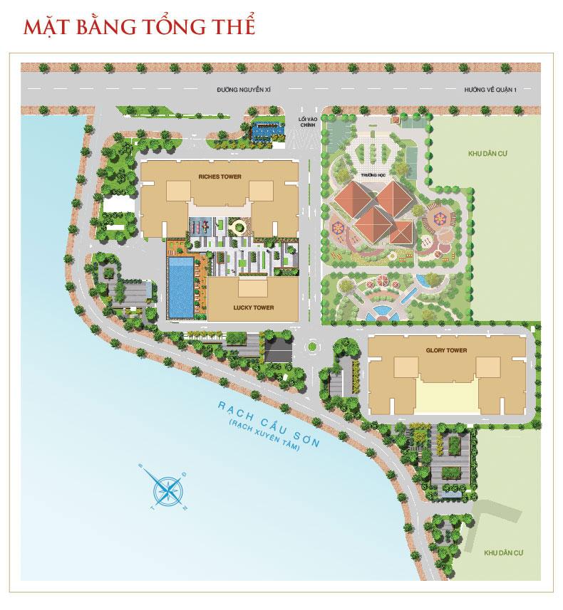 Căn hộ Richmond City Nguyễn Xí Hưng Thịnh